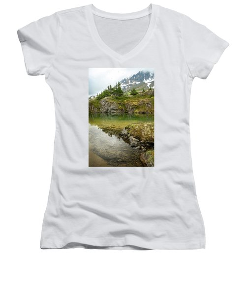 Tarns Of Nagoon 172 Women's V-Neck T-Shirt