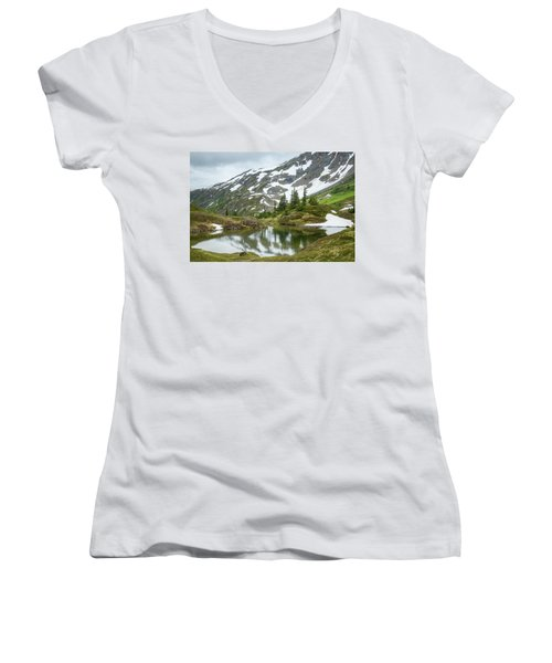 Tarns Of Nagoon 209 Women's V-Neck
