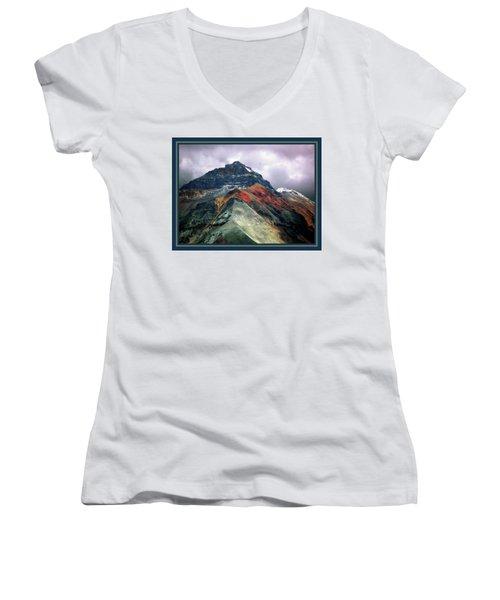 Telluride Mountain Women's V-Neck