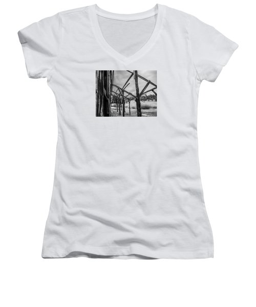 Testament Women's V-Neck T-Shirt