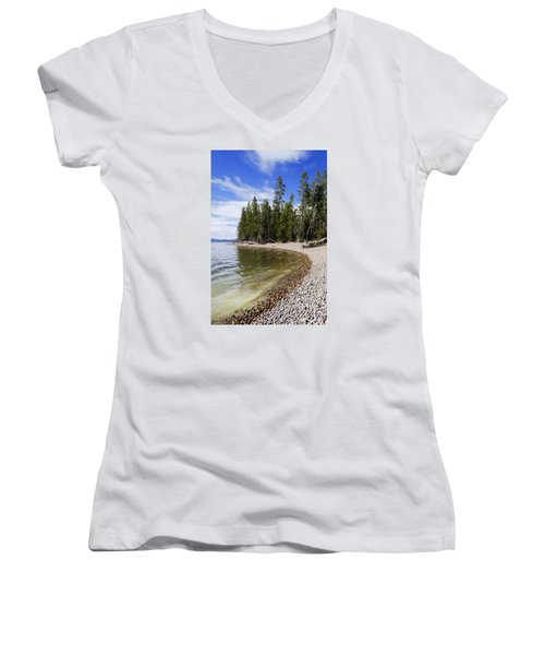 Teton Shore Women's V-Neck T-Shirt
