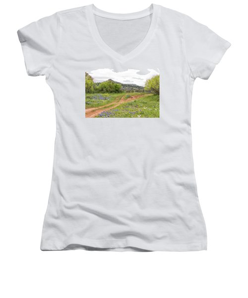 Texas Hill Country Women's V-Neck