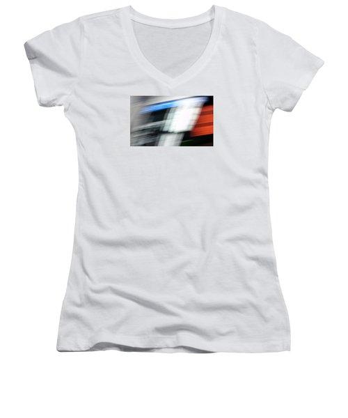 TGV Women's V-Neck T-Shirt (Junior Cut) by Steven Huszar