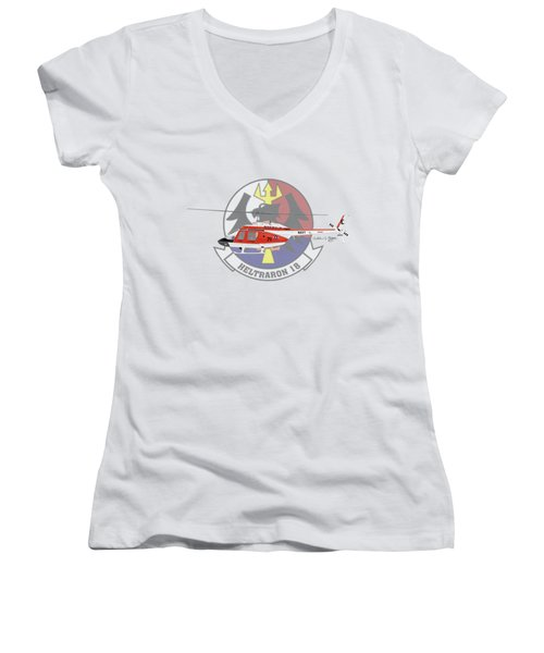 Th-57c Ht-18 Women's V-Neck T-Shirt (Junior Cut) by Arthur Eggers