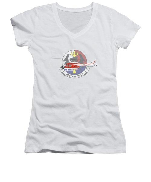 Th-57c Ht-18 Women's V-Neck T-Shirt