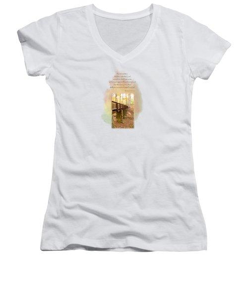 The Accounting Women's V-Neck T-Shirt