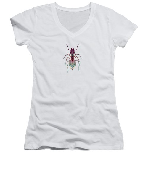The Ant Women's V-Neck T-Shirt