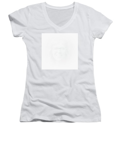 The Apparition Women's V-Neck T-Shirt (Junior Cut) by David Patterson