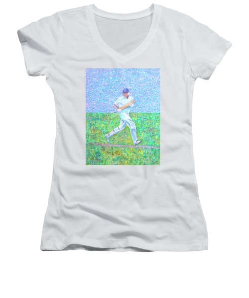 The Batsman Women's V-Neck