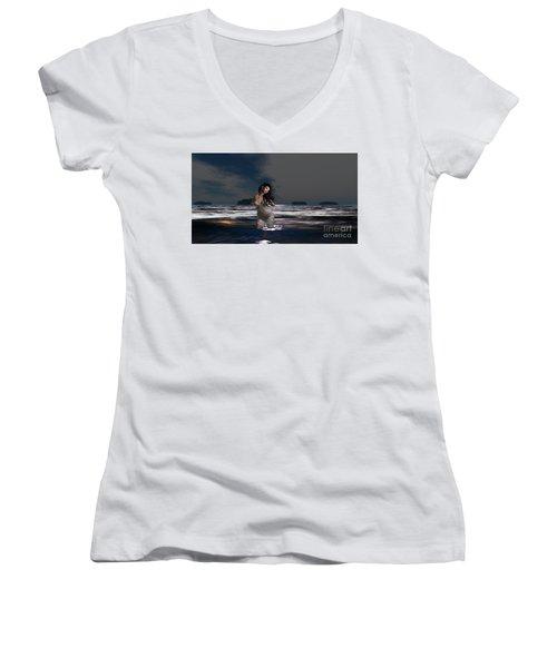 The Beach 5 Women's V-Neck T-Shirt
