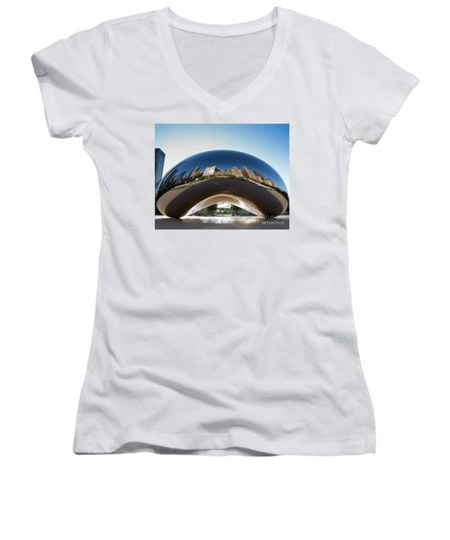 The Bean's Early Morning Reflections Women's V-Neck