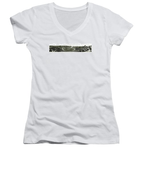 Stanford And U Of C 1925 Women's V-Neck (Athletic Fit)
