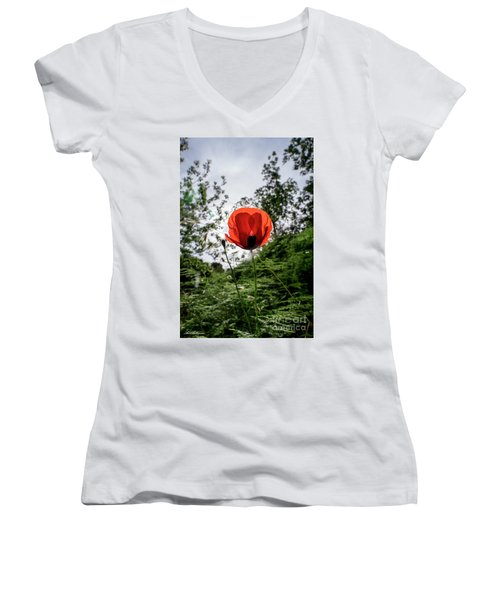 The Big Red 02 Women's V-Neck