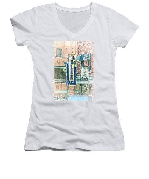 The Blue Room Women's V-Neck (Athletic Fit)