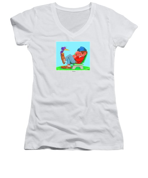 The Bozo Collecton 3 Women's V-Neck (Athletic Fit)