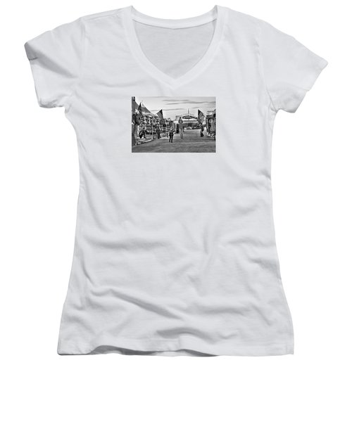 The Carnival Street Women's V-Neck (Athletic Fit)