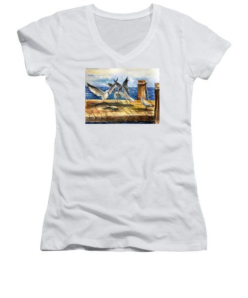 The Catch Is Mine Women's V-Neck