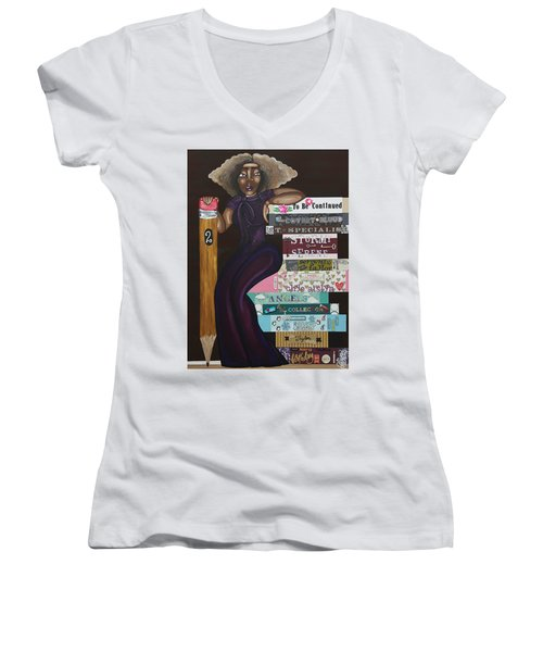The Chapters Of My Life Women's V-Neck