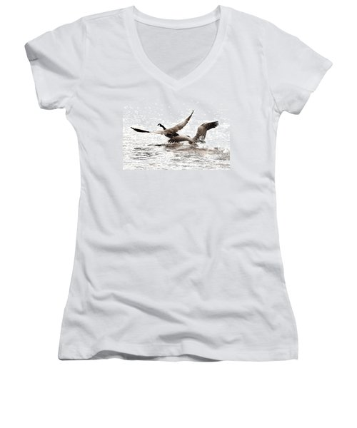 The Chase  Women's V-Neck