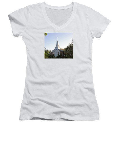 The Church Of Jesus Christ Of Later Day Saints Women's V-Neck T-Shirt