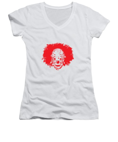 The Clown Women's V-Neck (Athletic Fit)