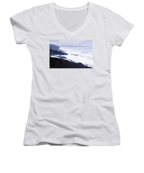 The Coast Women's V-Neck T-Shirt (Junior Cut)