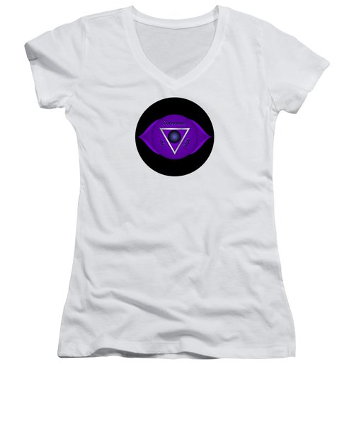 The Conscious Mind Women's V-Neck (Athletic Fit)
