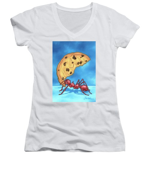 The Cookie Cutter Ant Women's V-Neck