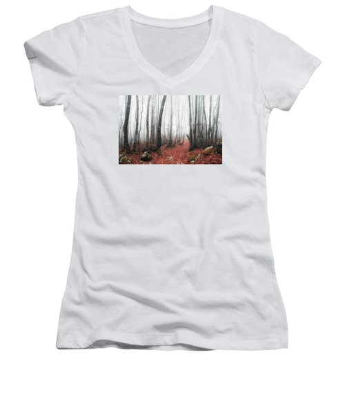 The Corridor Women's V-Neck