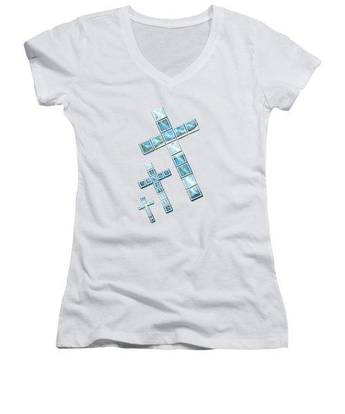 The Cross Speaks Of You Women's V-Neck