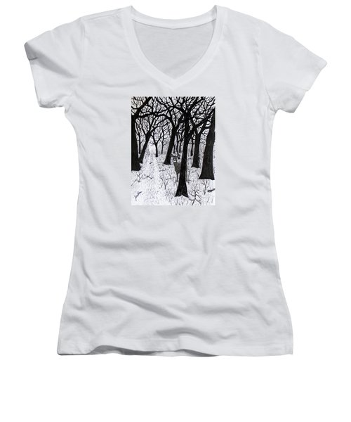The Crossing  160120 Women's V-Neck T-Shirt