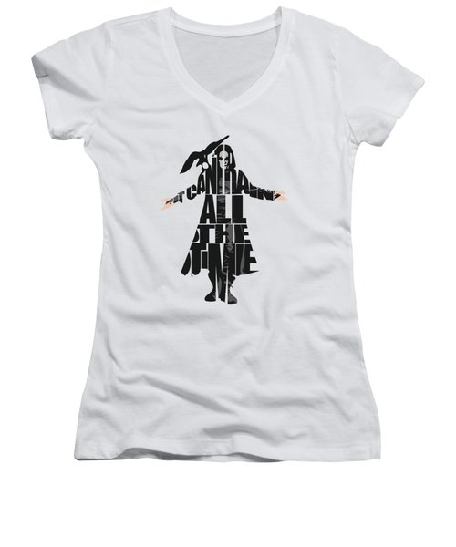The Crow Women's V-Neck