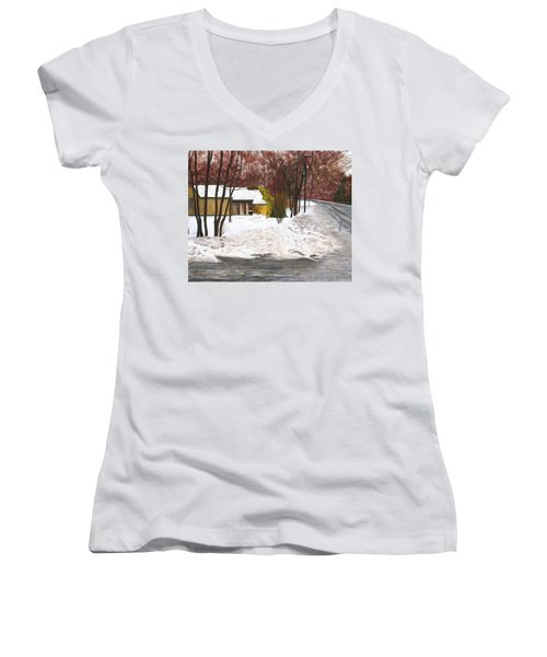 The Day After Women's V-Neck T-Shirt