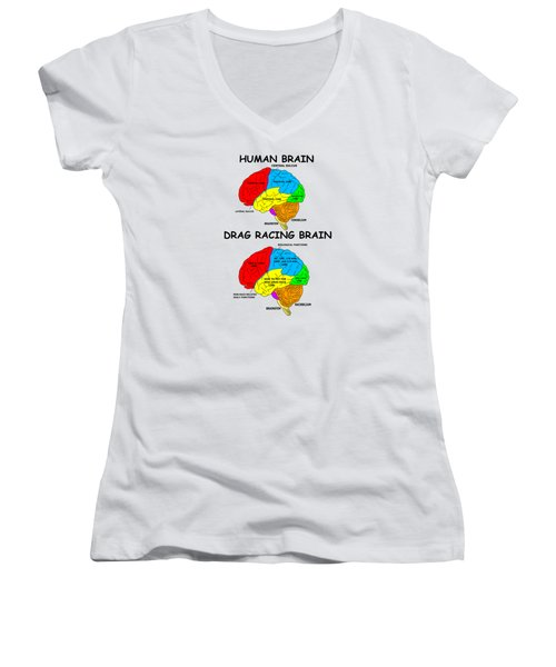 The Difference Women's V-Neck T-Shirt