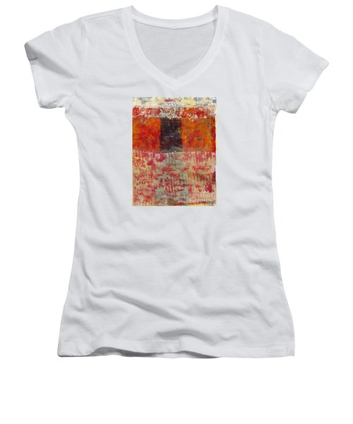 The Door Women's V-Neck (Athletic Fit)