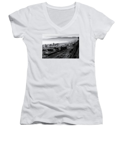 The Evening Drive Home Women's V-Neck (Athletic Fit)