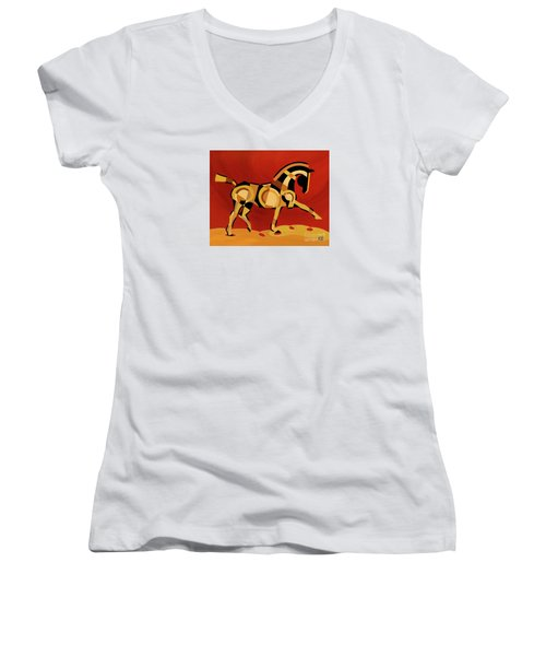 The Extension Of Equus Women's V-Neck (Athletic Fit)