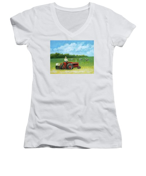 The Farmer Women's V-Neck