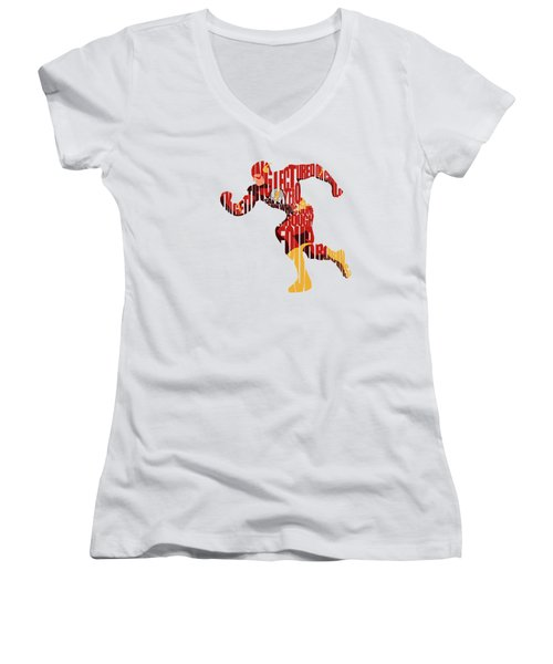 The Flash Women's V-Neck