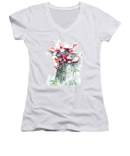 The Gateway To Imagination Women's V-Neck