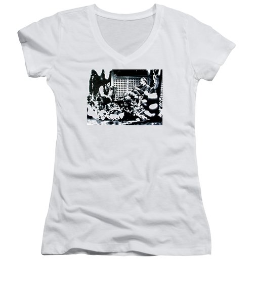 The Godfather Women's V-Neck (Athletic Fit)