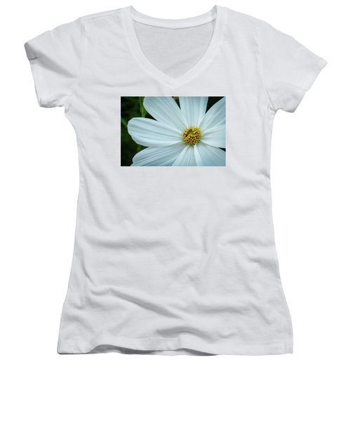 The Heart Of The Daisy Women's V-Neck T-Shirt