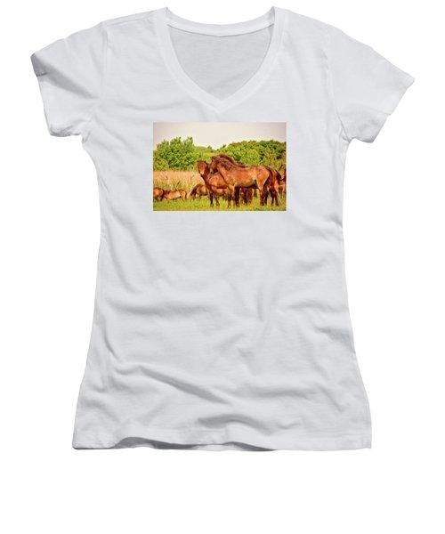 The Herd 2 Women's V-Neck