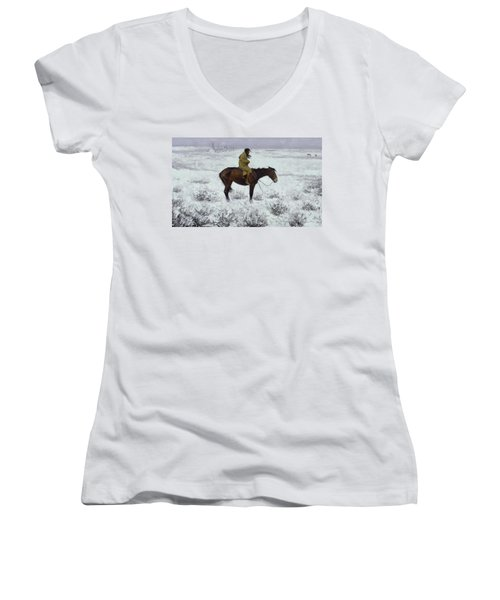 The Herd Boy Women's V-Neck