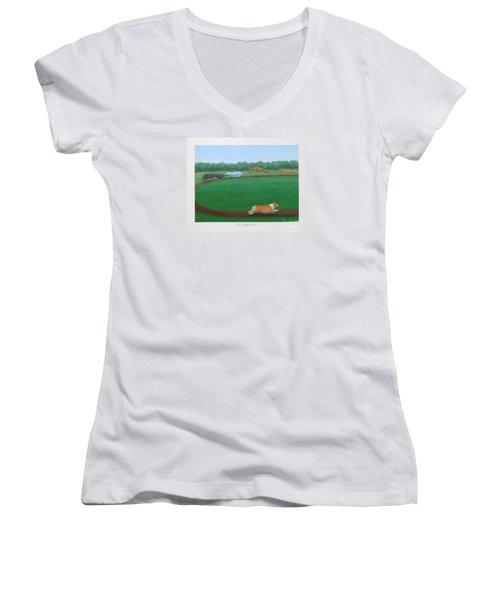 The Impostor I Women's V-Neck T-Shirt