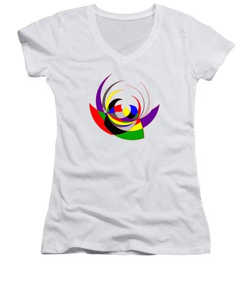 The Jester Women's V-Neck T-Shirt