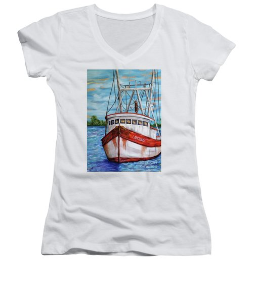 The Lady Roux Women's V-Neck T-Shirt