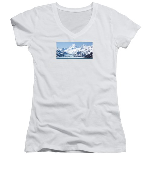 The Land Of Ice Women's V-Neck (Athletic Fit)