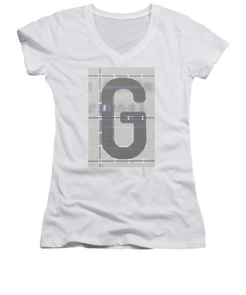 The Letter G Women's V-Neck