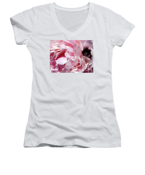 The Lost Bee 2 Women's V-Neck (Athletic Fit)